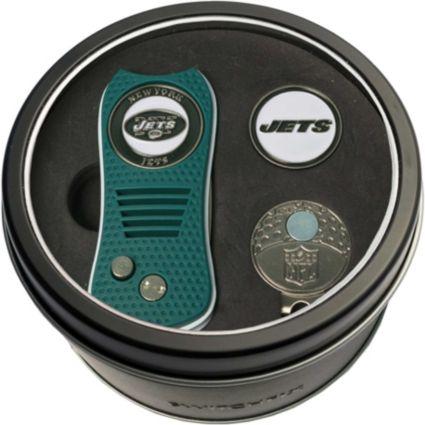 Team Golf New York Jets Switchfix Divot Tool and Cap Clip Set