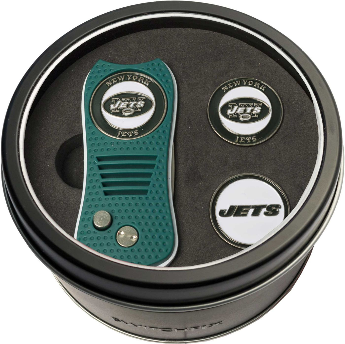 Team Golf New York Jets Switchfix Divot Tool and Ball Markers Set