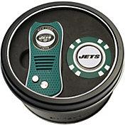 Team Golf New York Jets Switchfix Divot Tool and Poker Chip Ball Marker Set