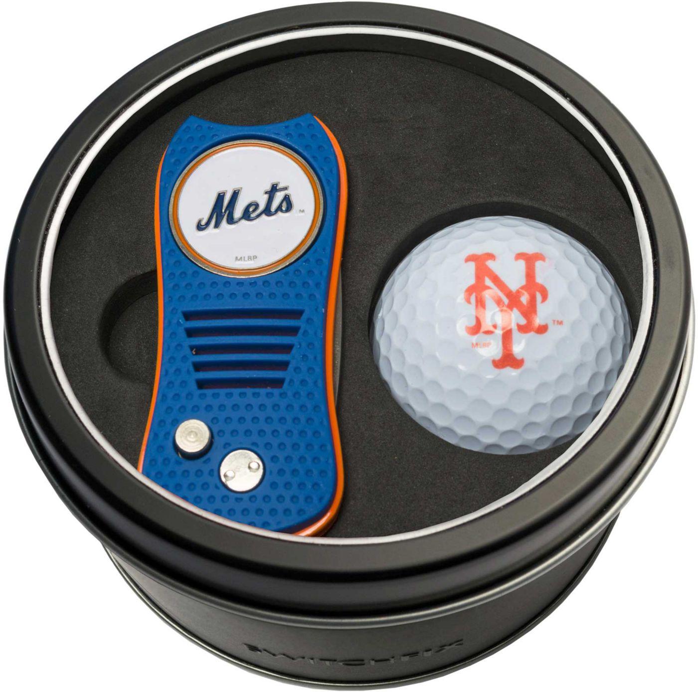 Team Golf New York Mets Switchfix Divot Tool and Golf Ball Set
