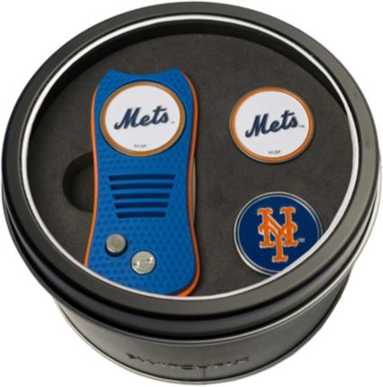 Team Golf New York Mets Switchfix Divot Tool and Ball Markers Set