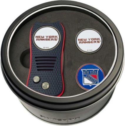 Team Golf New York Rangers Switchfix Divot Tool and Ball Markers Set