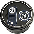 Team Golf New York Yankees Switchfix Divot Tool and Poker Chip Ball Marker Set