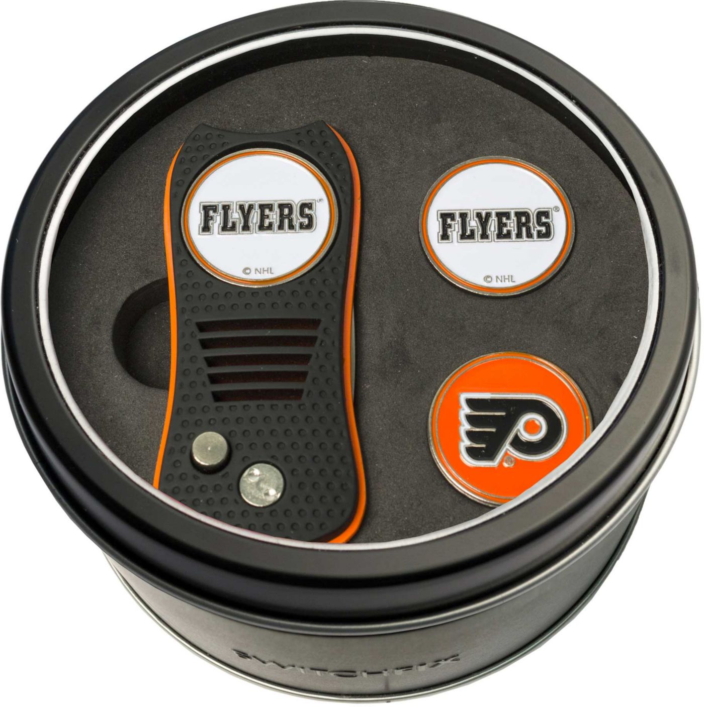 Team Golf Philadelphia Flyers Switchfix Divot Tool and Ball Markers Set