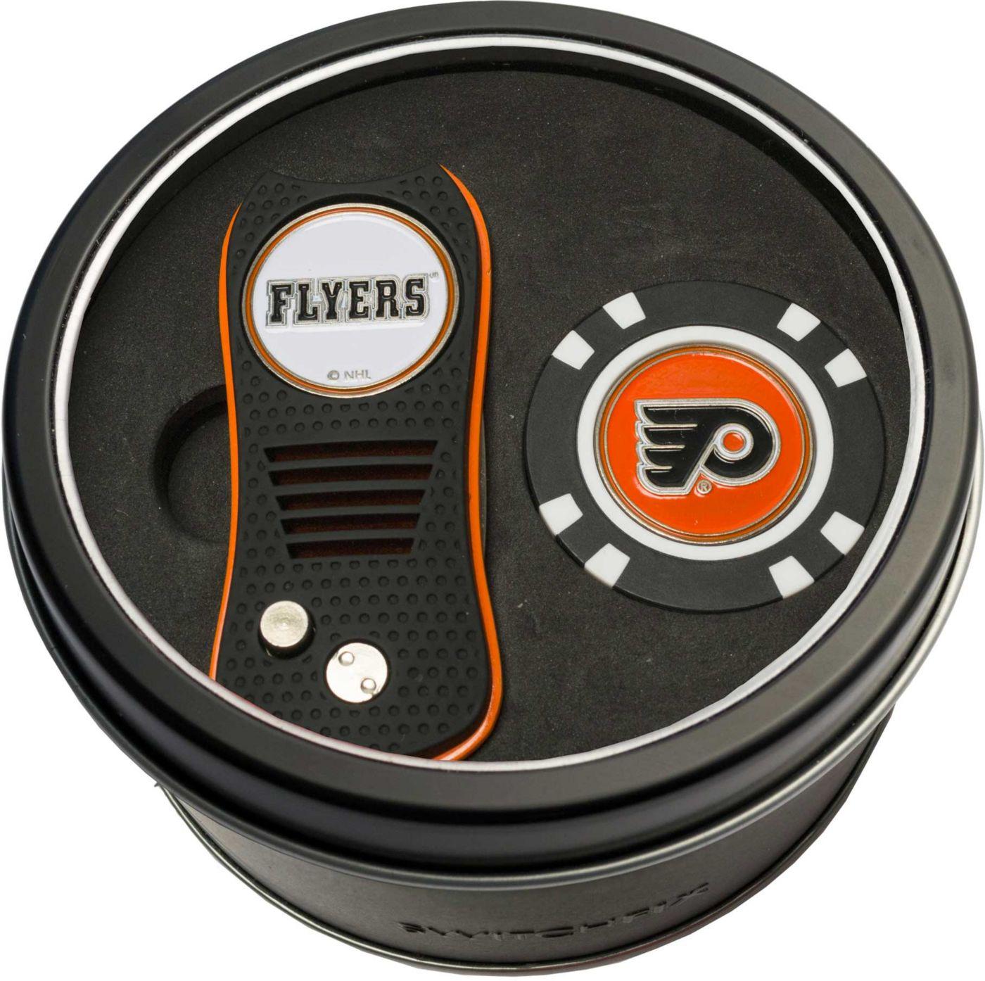 Team Golf Philadelphia Flyers Switchfix Divot Tool and Poker Chip Ball Marker Set