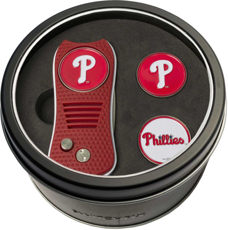 Team Golf Philadelphia Phillies Switchfix Divot Tool and Ball Markers Set