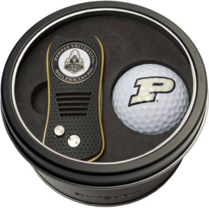 Team Golf Purdue Boilermakers Switchfix Divot Tool and Golf Ball Set