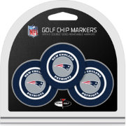 Team Golf Super Bowl LI Champions New England Patriots Poker Chip Ball Markers – 3-Pack