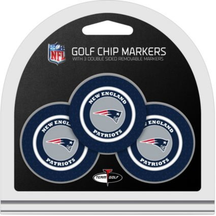 Team Golf New England Patriots Golf Chips - 3 Pack (2017 Super Bowl Champions Edition)