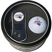Team Golf Super Bowl LI Champions New England Patriots Switchfix Divot Tool + Golf Ball Tin Set