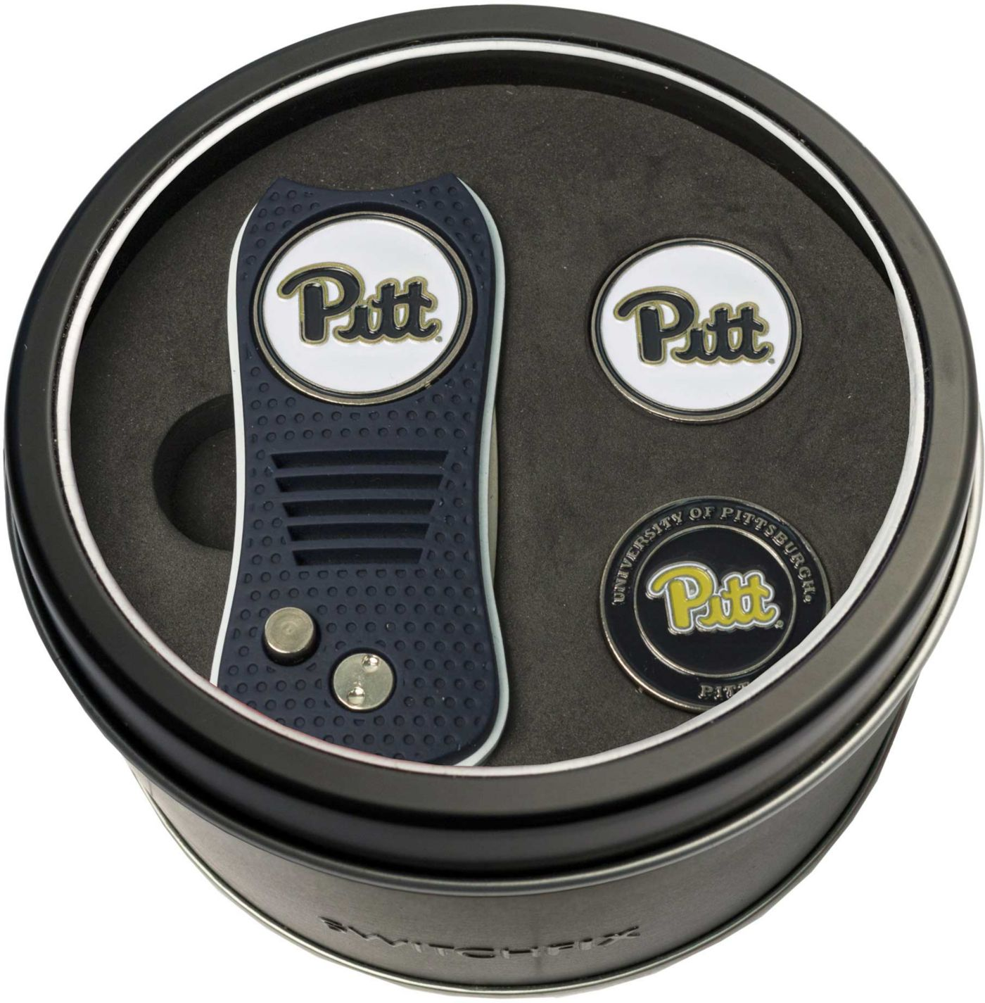 Team Golf PittPanthers Switchfix Divot Tool and Ball Markers Set