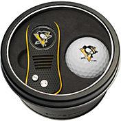 Team Golf Pittsburgh Penguins Switchfix Divot Tool and Golf Ball Set