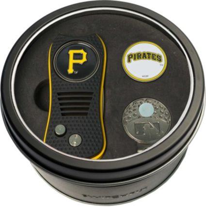 Team Golf Pittsburgh Pirates Switchfix Divot Tool and Cap Clip Set