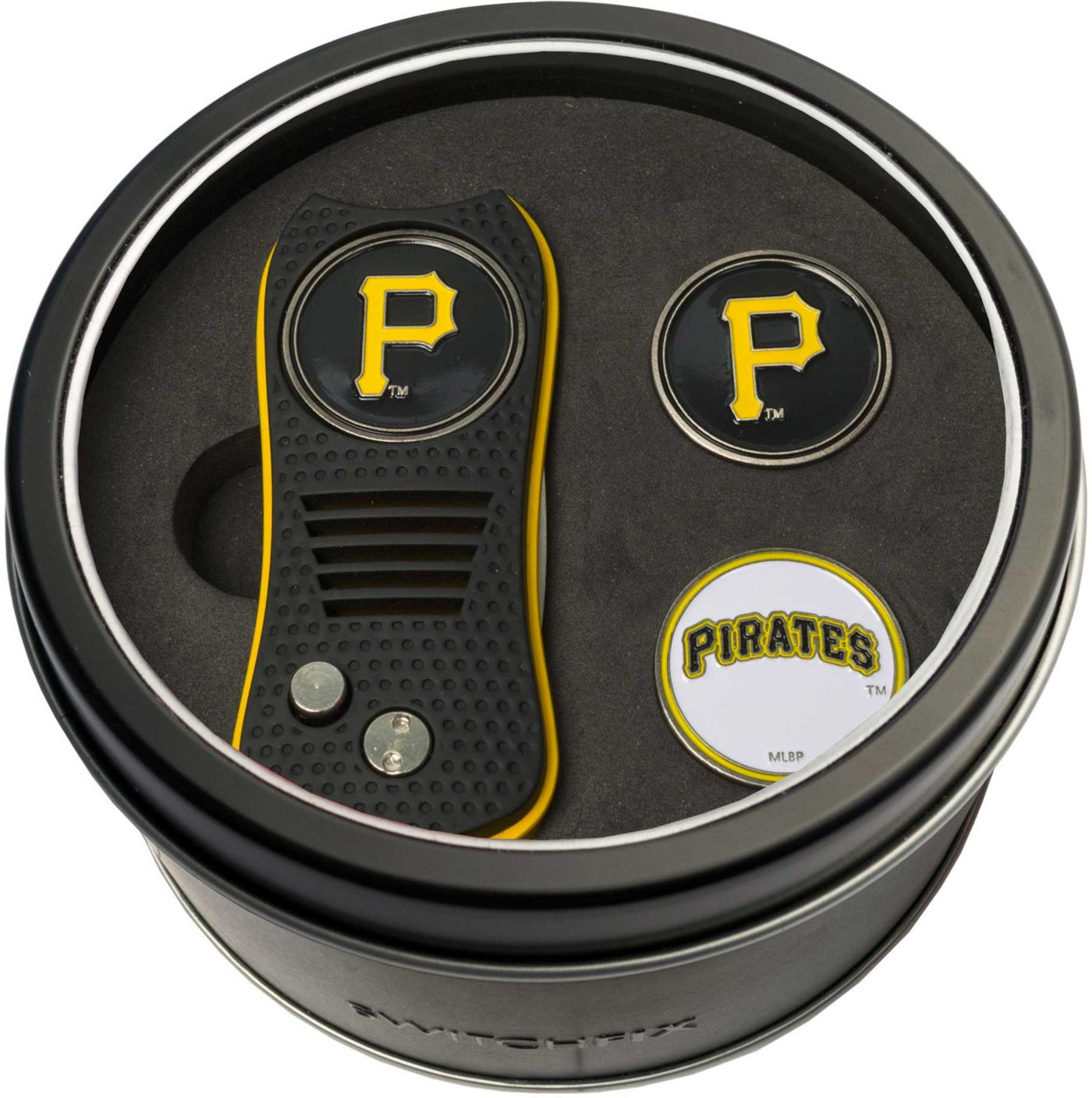Team Golf Pittsburgh Pirates Switchfix Divot Tool and Ball Markers Set