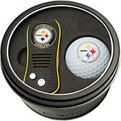 Team Golf Pittsburgh Steelers Switchfix Divot Tool and Golf Ball Set
