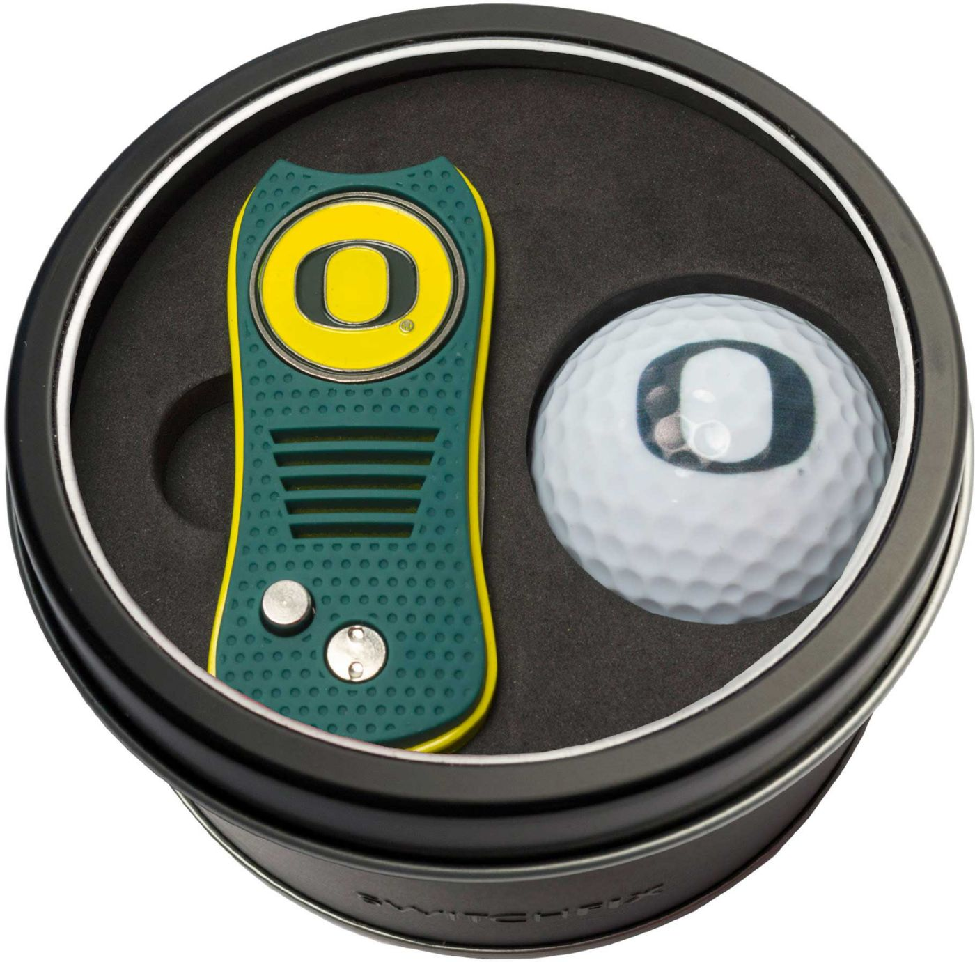 Team Golf Oregon Ducks Switchfix Divot Tool and Golf Ball Set