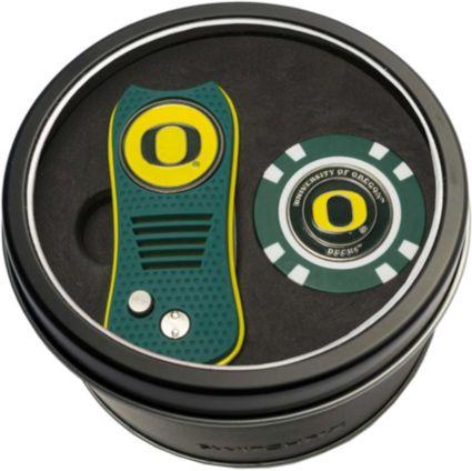 Team Golf Oregon Ducks Switchfix Divot Tool and Poker Chip Ball Marker Set