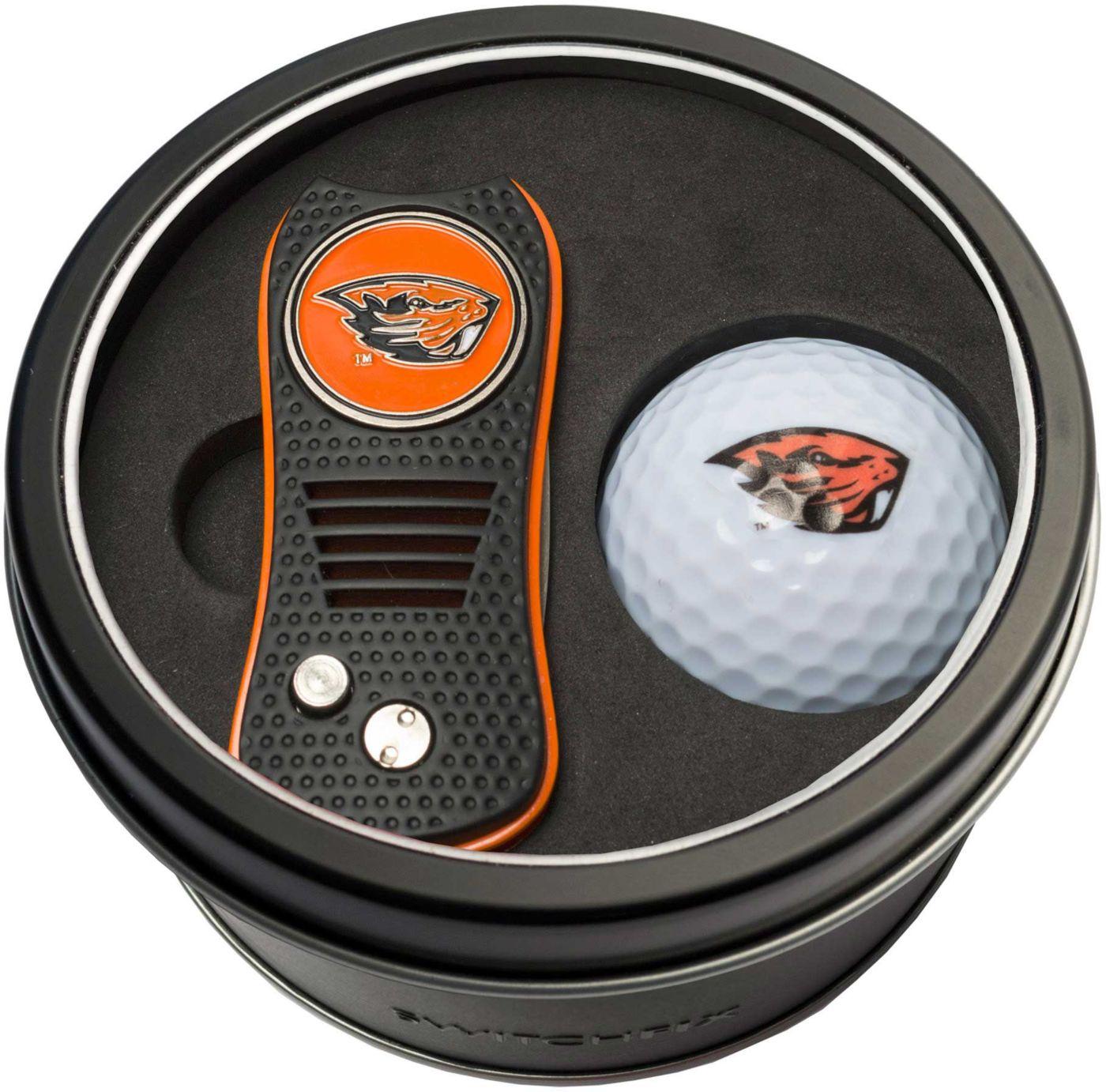 Team Golf Oregon State Beavers Switchfix Divot Tool and Golf Ball Set