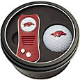 Team Golf Arkansas Razorbacks Switchfix Divot Tool and Golf Ball Set