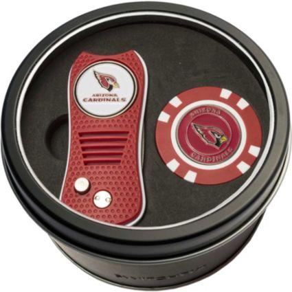 Team Golf Arizona Cardinals Switchfix Divot Tool and Poker Chip Ball Marker Set