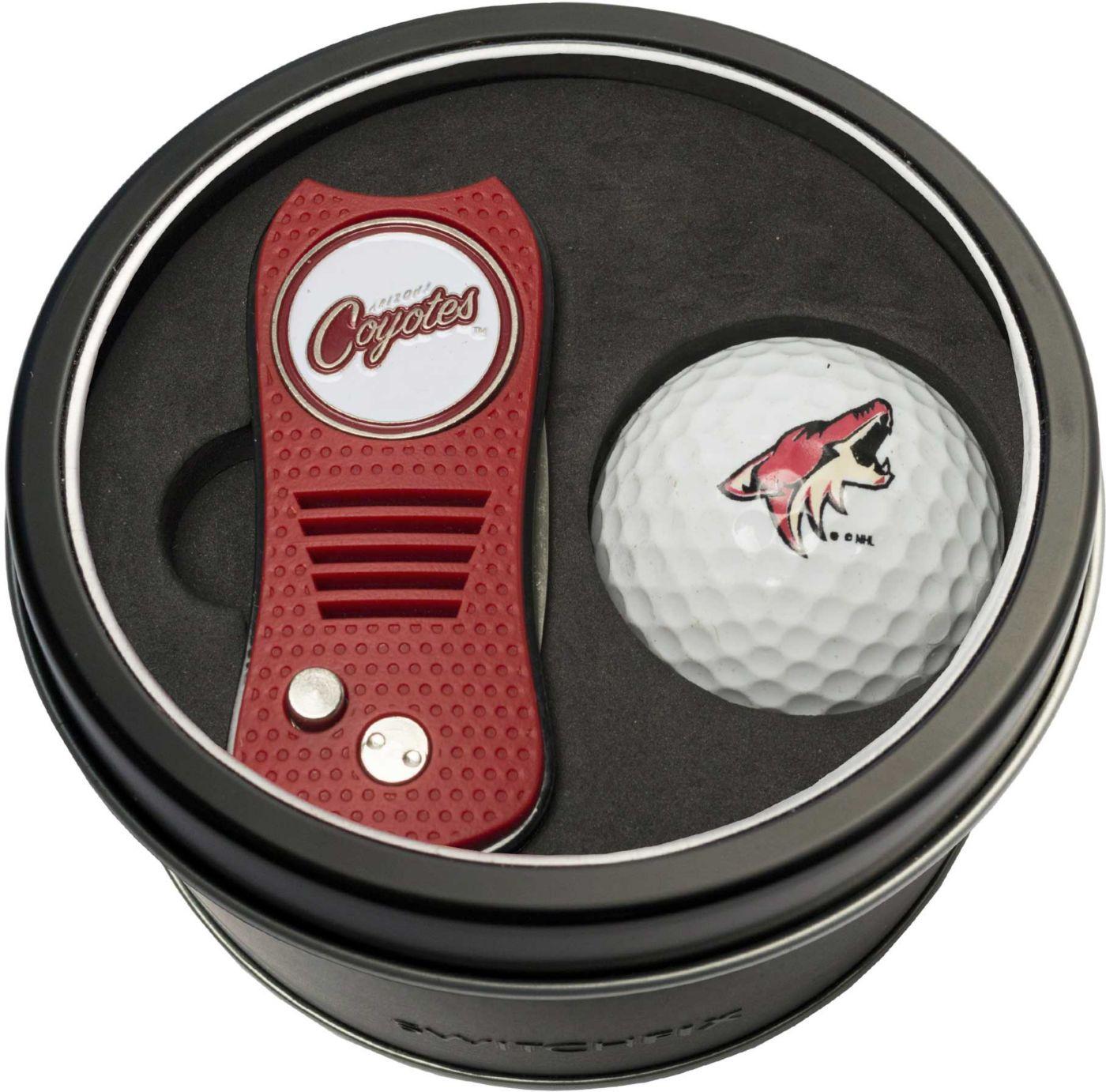Team Golf Arizona Coyotes Switchfix Divot Tool and Golf Ball Set