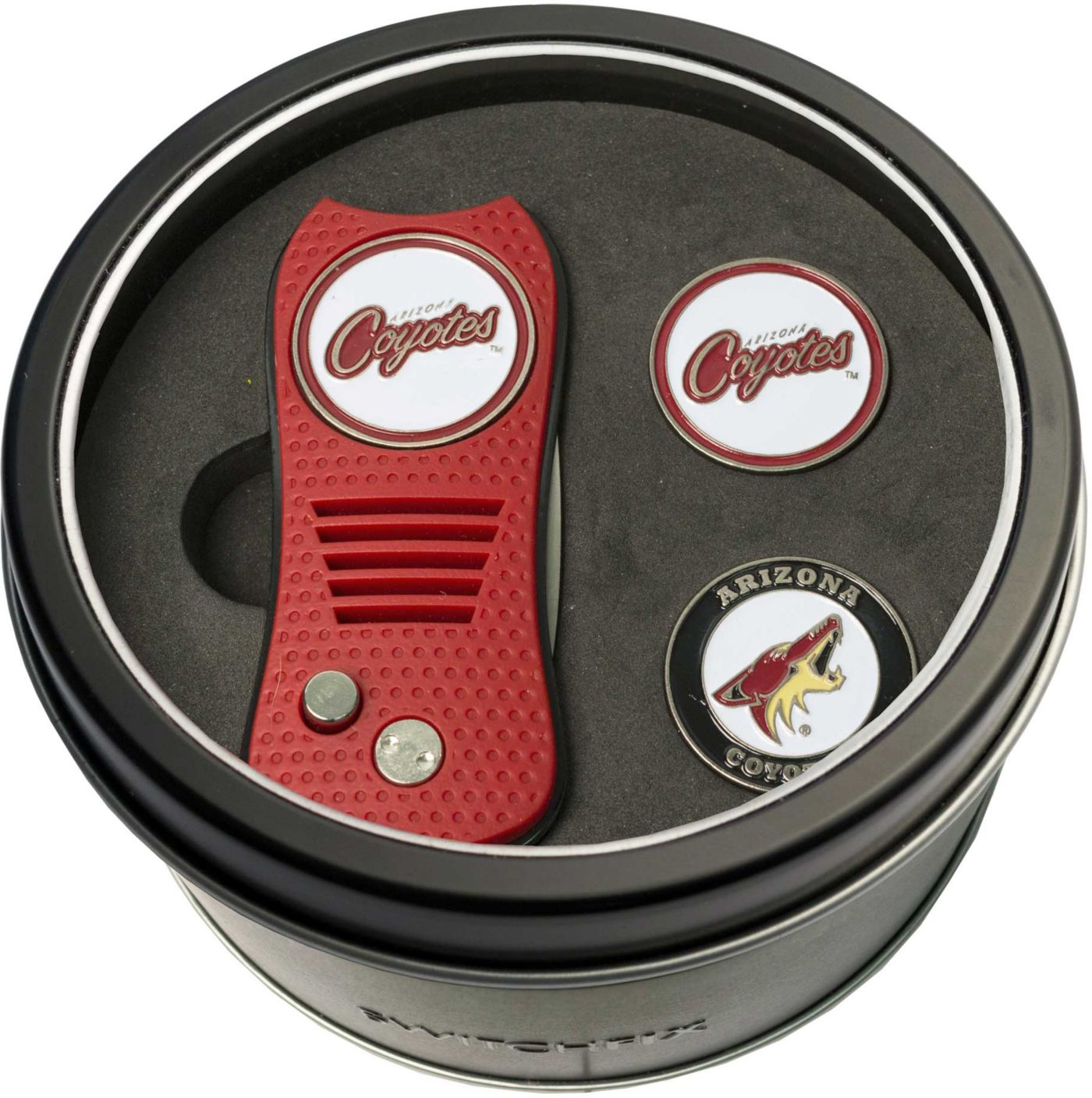 Team Golf Arizona Coyotes Switchfix Divot Tool and Ball Markers Set