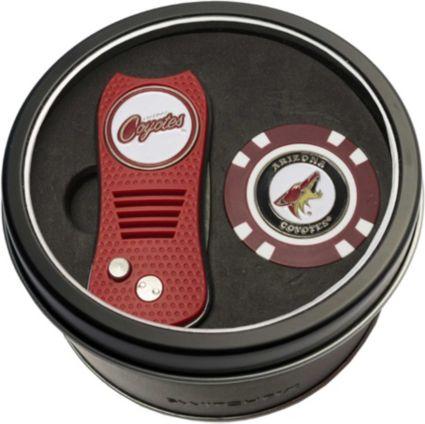 Team Golf Arizona Coyotes Switchfix Divot Tool and Poker Chip Ball Marker Set