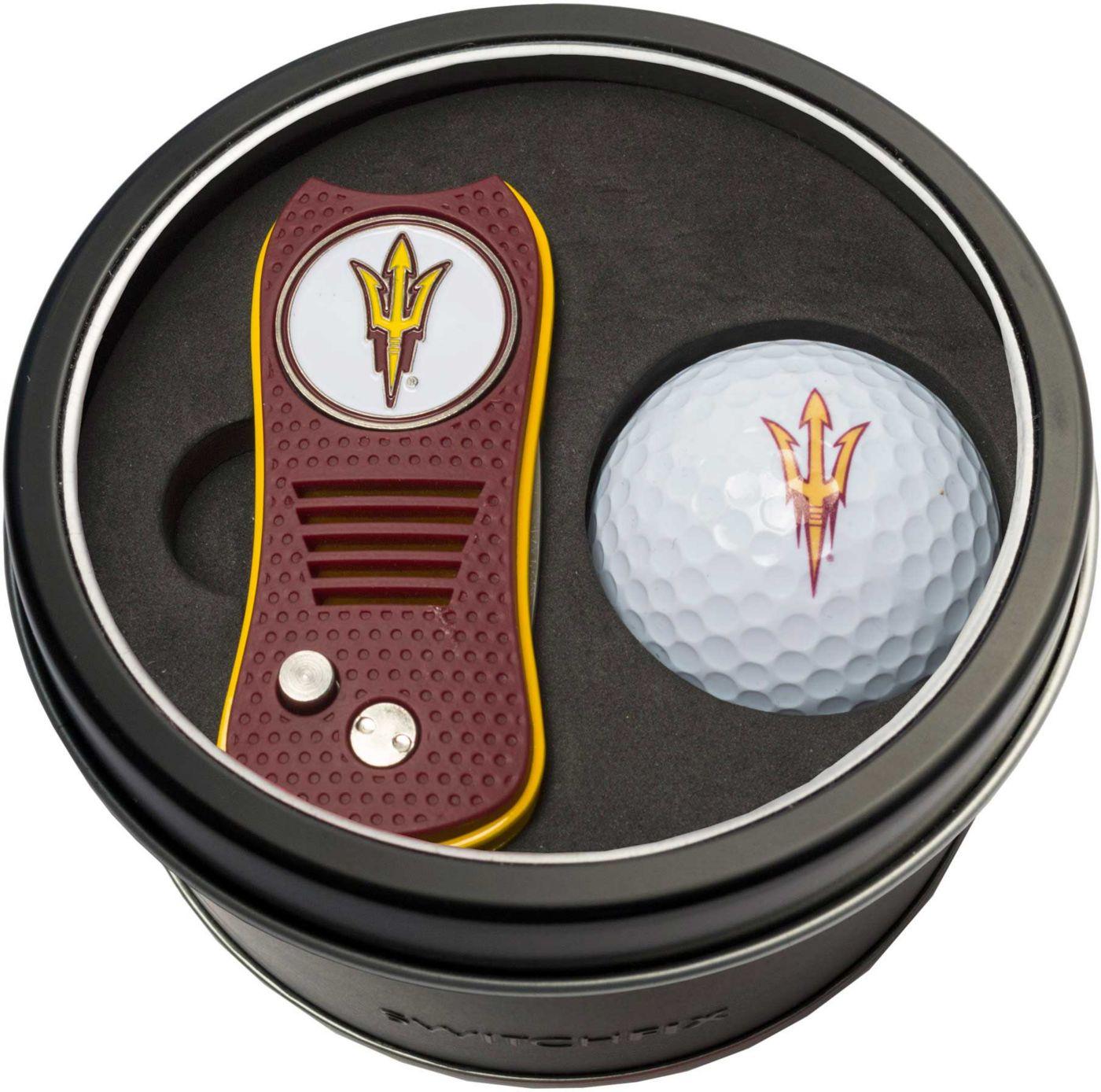 Team Golf Arizona State Sun Devils Switchfix Divot Tool and Golf Ball Set