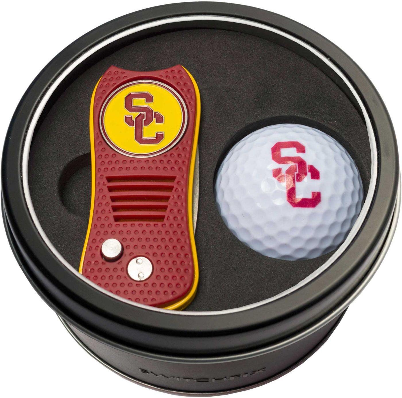 Team Golf USC Trojans Switchfix Divot Tool and Golf Ball Set