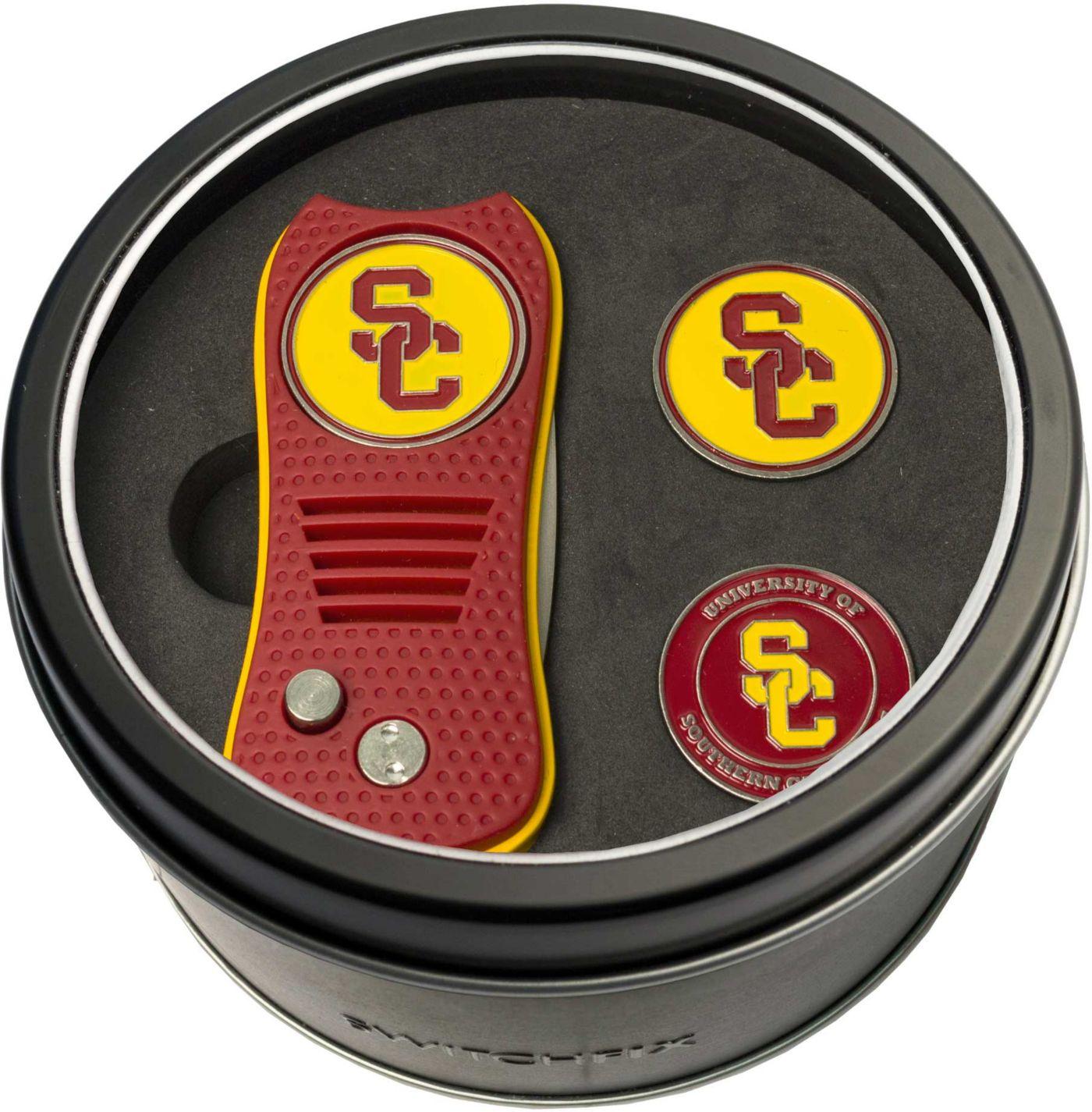 Team Golf USC Trojans Switchfix Divot Tool and Ball Markers Set