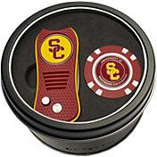 Team Golf USC Trojans Switchfix Divot Tool and Poker Chip Ball Marker Set