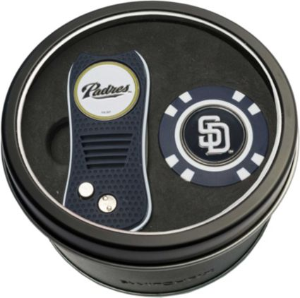 Team Golf San Diego Padres Switchfix Divot Tool and Poker Chip Ball Marker Set