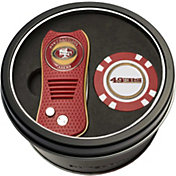 Team Golf San Francisco 49ers Switchfix Divot Tool and Poker Chip Ball Marker Set