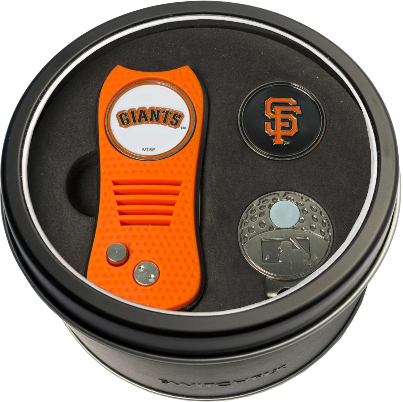 Team Golf San Francisco Giants Switchfix Divot Tool and Cap Clip Set