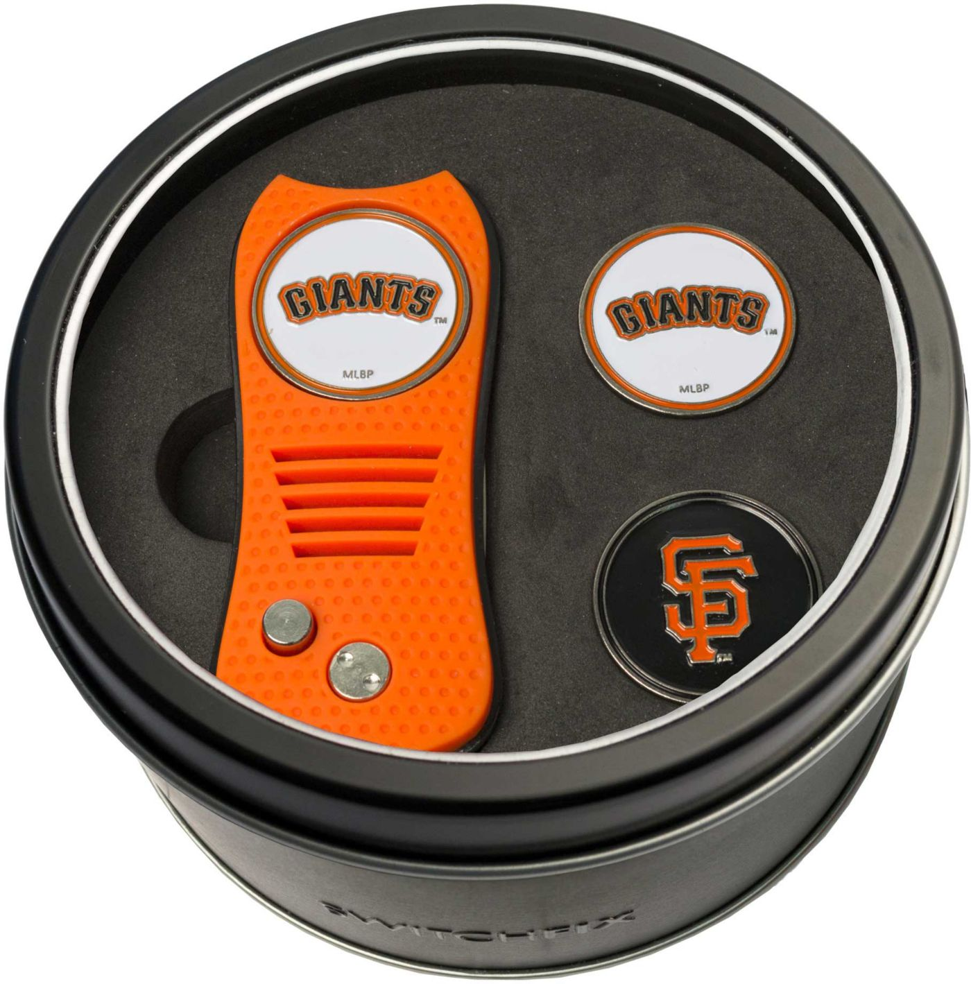Team Golf San Francisco Giants Switchfix Divot Tool and Ball Markers Set