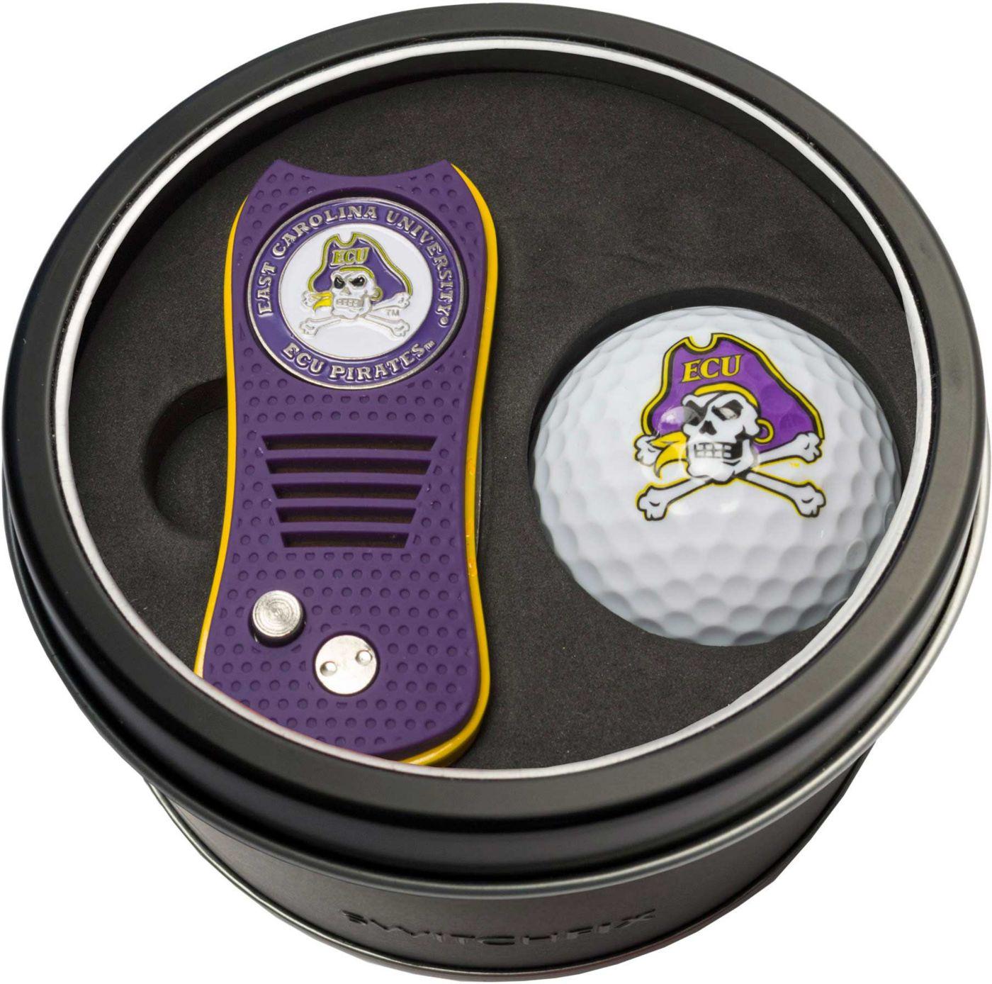 Team Golf East Carolina Pirates Switchfix Divot Tool and Golf Ball Set