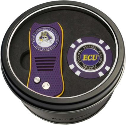 Team Golf East Carolina Pirates Switchfix Divot Tool and Poker Chip Ball Marker Set
