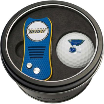 Team Golf St. Louis Blues Switchfix Divot Tool and Golf Ball Set