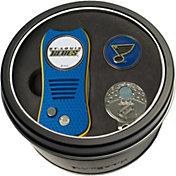 Team Golf St. Louis Blues Switchfix Divot Tool and Cap Clip Set