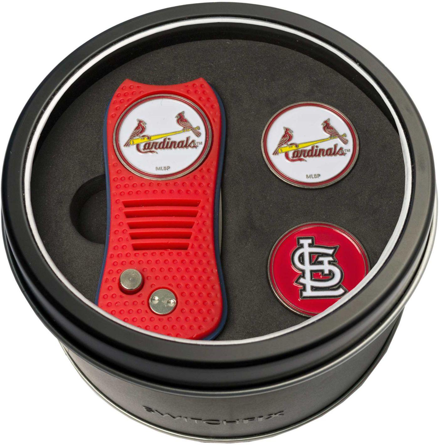 Team Golf St. Louis Cardinals Switchfix Divot Tool and Ball Markers Set