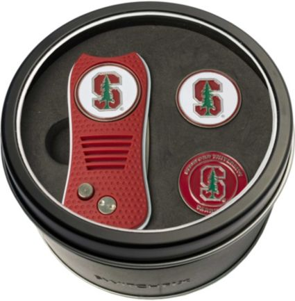 Team Golf Stanford CardinalSwitchfix Divot Tool and Ball Markers Set
