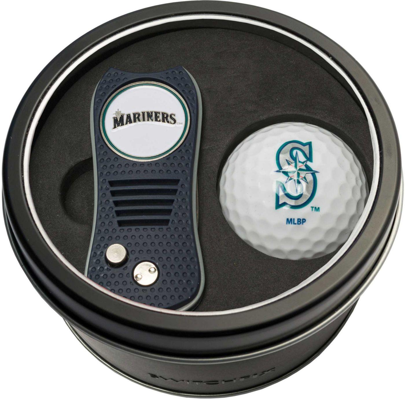 Team Golf Seattle Mariners Switchfix Divot Tool and Golf Ball Set