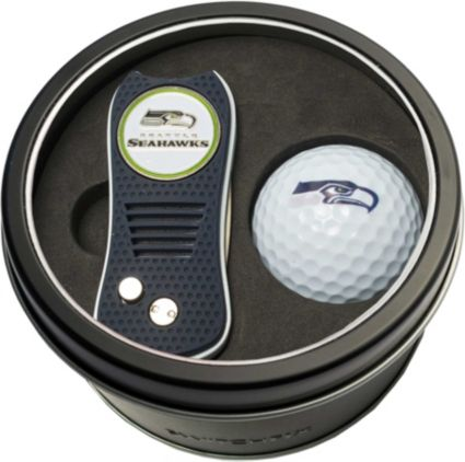 Team Golf Seattle Seahawks Switchfix Divot Tool and Golf Ball Set
