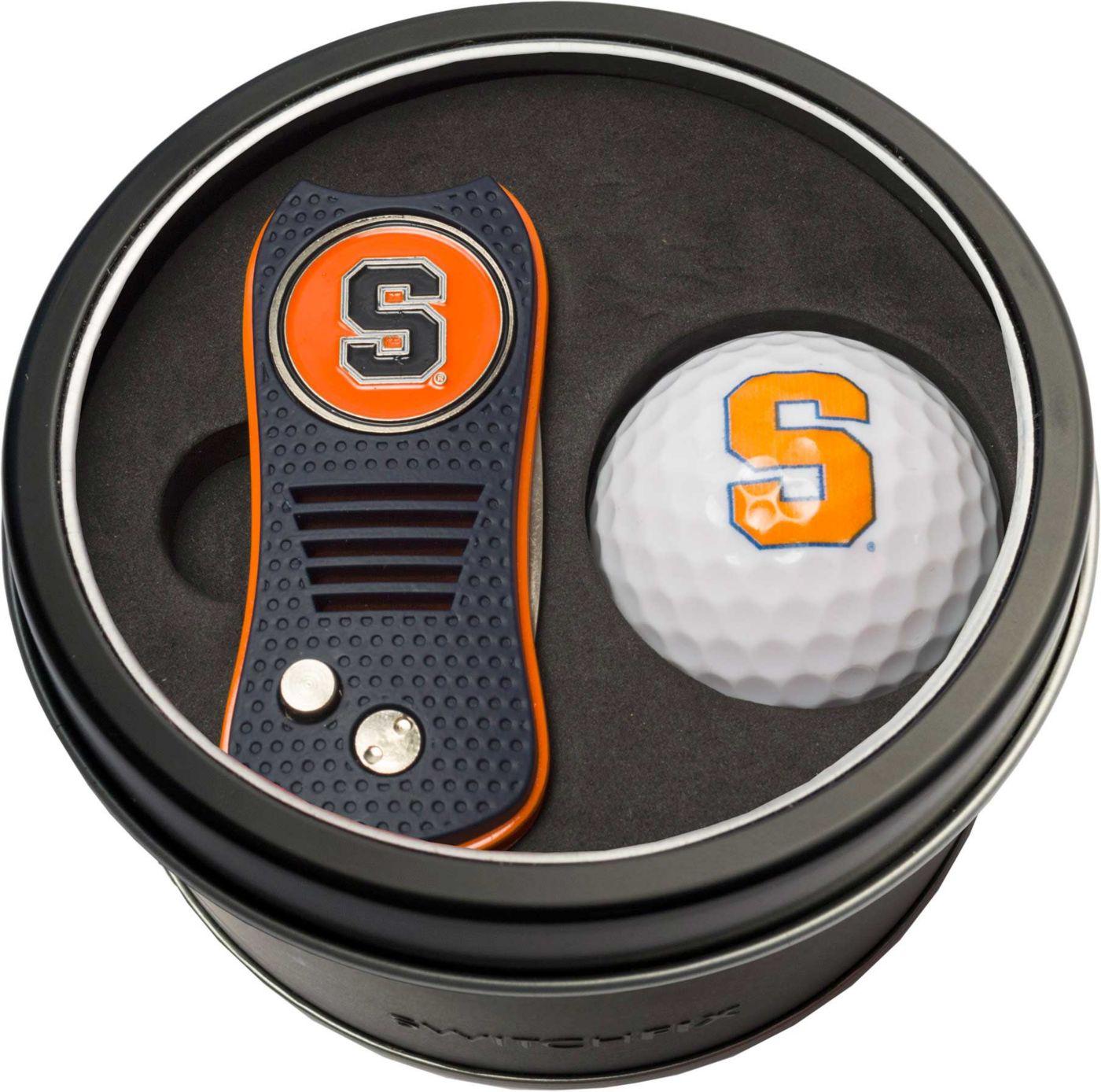 Team Golf Syracuse Orange Switchfix Divot Tool and Golf Ball Set