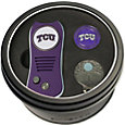 Team Golf TCU Horned Frogs Switchfix Divot Tool and Cap Clip Set