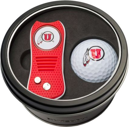 Team Golf Utah Utes Switchfix Divot Tool and Golf Ball Set