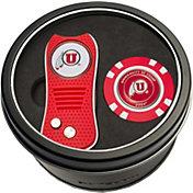 Team Golf Utah Utes Switchfix Divot Tool and Poker Chip Ball Marker Set