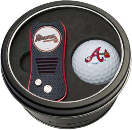 Team Golf Atlanta Braves Switchfix Divot Tool and Golf Ball Set
