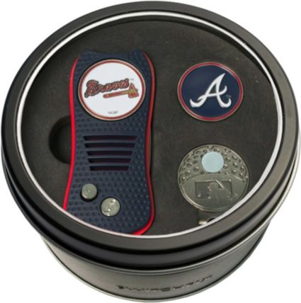 Team Golf Atlanta Braves Switchfix Divot Tool and Cap Clip Set