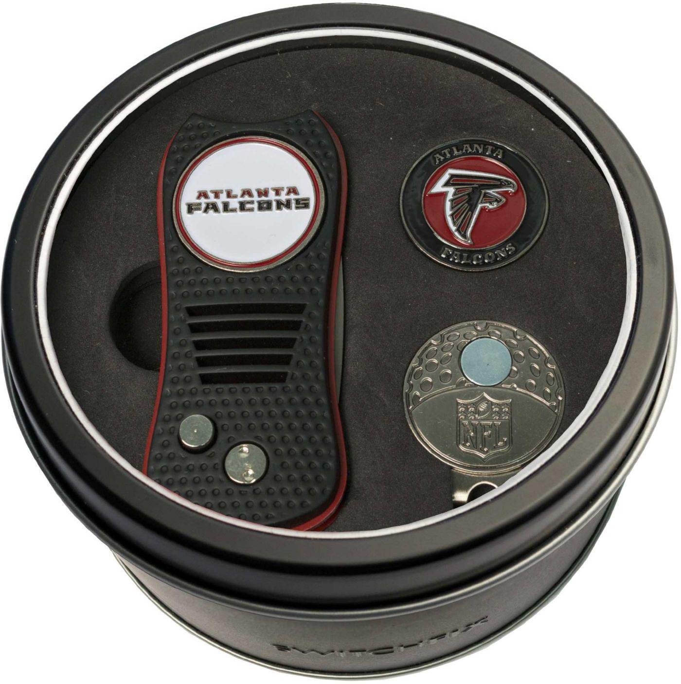 Team Golf Atlanta Falcons Switchfix Divot Tool and Cap Clip Set